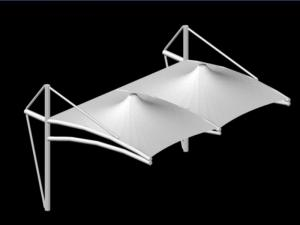 Space Frame  Carport Roof