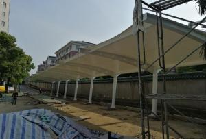 Waterproof Tension  Fabric Canopy