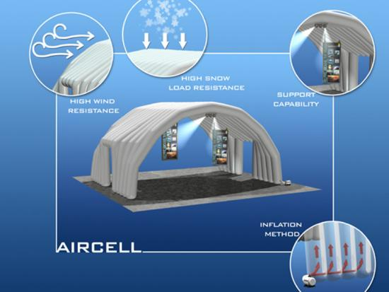China Inflatable Removable Tent