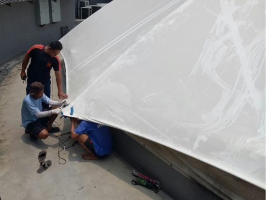 Dome Tensile Roofing System