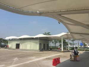 Tensioned Membrane Roof