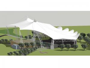 China Tensile Structure Design