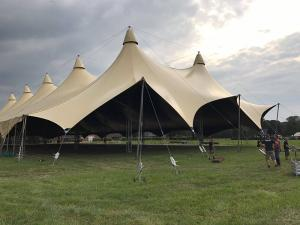 customized tents for show